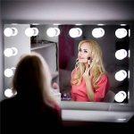 Symboat Mirror Light Lumiere LED Miroir Lampe pour Miroir Vanity LED Mirror Lights Kit Dimmable 10 ampoules d'éclairage bande de montage bricolage pour coiffeuse maquillage de la marque Symboat image 1 produit