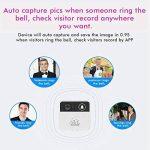 Symboat Sonnette sans fil WiFi Vidéo Sécurité Caméra Porte Carillon Bell Téléphone Télécommande de la marque Symboat image 2 produit