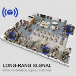 Système d'interphone sans fil Hosmart 500 mètres pour la maison et le bureau (3 stations) de la marque Hosmart image 1 produit