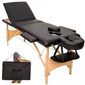 TecTake Table de massage Table de massage pliante 3 zones banque bourse-disponible en différentes couleurs de la marque TecTake image 0 produit
