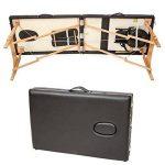 TecTake Table de massage Table de massage pliante 3 zones banque bourse-disponible en différentes couleurs de la marque TecTake image 3 produit