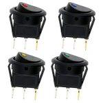 TedGemInterrupteur à Bascule 3 Broches DC 12V 20A Auto illuminé Interrupteur à bascule Bouton ON/OFF pour Voiture Electronique de la marque TedGem image 2 produit