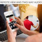 Teepao WiFi Sonnette Vidéo, Etanche Electrique Sonnette sans Fil Exterieur, 720p HD Security Smart Sonnette Caméra Vidéo en temps réel Audio bidirectionnel Night Vision PIR Motion Detection pour IOS Android de la marque Teepao image 1 produit