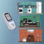 Tevigo - Contrôleur de consommation & coût électrique 16 A/ 3680 W; Set de 2 - Prise Allemande de la marque Asigo image 4 produit