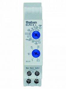 Theben ELPA 6Plus Interrupteur de minuterie d'Escalier modulaire avec 10Fonctions, 0060003 de la marque Theben image 0 produit