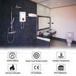 Thermomate ELEX9.6 240V 9,6kW Chauffe-Eau Instantané Électrique, Contrôle de l'écran Tactile LCD de la marque Thermomate image 2 produit