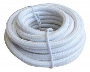 Tibelec 073610 Câble électrique textile Blanc de la marque TIBELEC image 0 produit