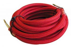 Tibelec 073660 Câble électrique textile Rouge de la marque TIBELEC image 0 produit