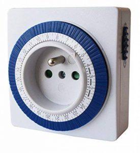Tibelec 562220 Prise programmateur journalier mécanique compact de la marque TIBELEC image 0 produit