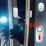 Tiiwee Kit d'Alarme Maison - Alarme avec 2 Capteurs Fenêtres et Porte et 1 Télécommande - Extensible - sans Fil de la marque tiiwee image 3 produit