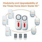Tiiwee Kit d'Alarme Maison - Alarme avec 2 Capteurs Fenêtres et Porte et 1 Télécommande - Extensible - sans Fil de la marque tiiwee image 4 produit