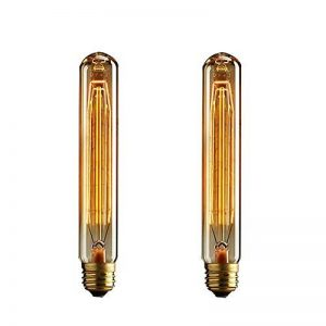 TINS Retro Edison Ampoule Vintage T185 Ampoule 25W E27 Blanc chaud Grande Ampoule Vintage et Ampoule Antique, Ampoule de Style éclairage industriel, 2 Paquets de la marque TINS image 0 produit