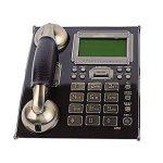 Téléphone Fixe_européen Téléphone rétro rétro Antique, Ligne Fixe de Bureau, câble d'identification de l'appelant de la marque Telephone-1123 image 2 produit