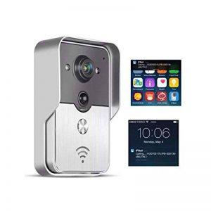 TOOGOO V1 video sonnette interphone sans fil wifi video sonnette wifi soutien a deverrouillage video intercom a distance Prise UE de la marque TOOGOO image 0 produit