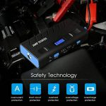 TOPELEK Démarrage Voiture - Car Jump Starter Multifonctionnelle, Booster Batterie Portable avec LED 【13600mAh, 500A】 de la marque Topop image 3 produit