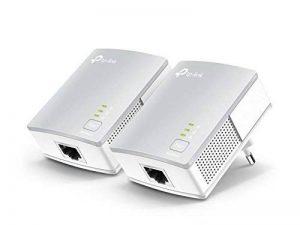 TP-Link CPL 600 Mbps avec 1 Port Ethernet, Kit de 2 - Solution idéale pour profiter du service Multi-TV à la maison (TL-PA4010 KIT) de la marque TP-Link image 0 produit