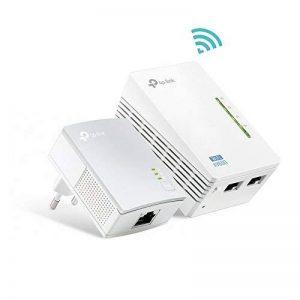 TP-Link CPL 600 Mbps avec 2 Ports Ethernet, 1 CPL Filaire + 1 CPL Wi-Fi - étendez votre connexion Internet dans chaque pièce de la maison (TL-WPA4220 KIT) de la marque TP-Link image 0 produit