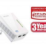TP-Link CPL 600 Mbps Wi-Fi 300 Mbps avec 2 Ports Ethernet - Solution idéale pour profiter du service Multi-TV à la maison (TL-WPA4220) de la marque TP-Link image 2 produit
