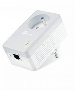 TP-Link CPL AV500 (Débit 500 Mbps), 1 Port Fast Ethernet, Prise Intégrée (TL-PA4015P) de la marque TP-Link image 0 produit