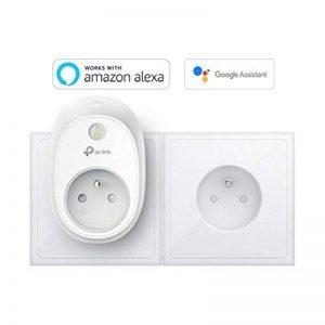 TP-Link Prise connectée WiFi avec mesure de consommation, fonctionne avec Amazon Alexa (Echo et Echo Dot), Google Assistant et IFTTT pour la commande vocale, aucun hub requis, contrôle vos appareils connectés depuis n'importe où - HS110(FR) de la marque T image 0 produit