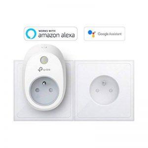 TP-Link Prise connectée WiFi, fonctionne avec Amazon Alexa (Echo et Echo Dot), Google Assistant et IFTTT pour la commande vocale, aucun hub requis, contrôle vos appareils connectés depuis n'importe où - HS100(FR) de la marque TP-Link image 0 produit