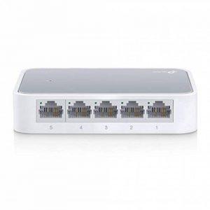 TP-Link TL-SF1005D Switch 5 Ports 10/100Mbps (Bureau, Boîtier Plastique) de la marque TP-Link image 0 produit