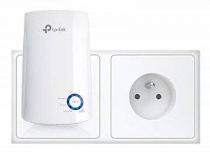 TP-Link TL-WA850RE(FR) Répéteur - Point d'accès Wi-Fi N 300 Mbps - 1 Port Ethernet - Compatible avec toutes les box internet - Augmente la portée du signal Wi-Fi jusqu'à des zones inatteignables ou difficiles à câbler de la marque TP-Link image 0 produit