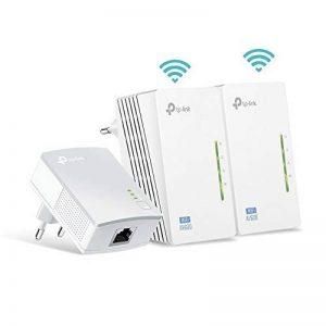 TP-Link TL-WPA4220T KIT - CPL 600 Mbps avec 2 Ports Ethernet, 1 CPL Filaire + 2 CPL Wi-Fi - étendez votre connexion Internet dans chaque pièce de la maison de la marque TP-Link image 0 produit