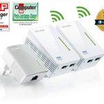 TP-Link TL-WPA4220T KIT - CPL 600 Mbps avec 2 Ports Ethernet, 1 CPL Filaire + 2 CPL Wi-Fi - étendez votre connexion Internet dans chaque pièce de la maison de la marque TP-Link image 2 produit