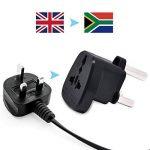Travel Plug adaptateur d'alimentation type M pour l'Afrique du Sud du Swaziland Mozambique du Lesotho Namibie Botswana Lot de 2 de la marque AUSYDE image 3 produit