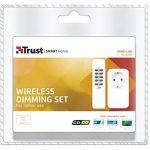 Trust Smart Home AC-200R Prise Intégrée avec récepteur/Variateur sans fil + Télécommande - Blanc de la marque Trust Smart Home image 1 produit