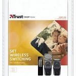 Trust Smart Home AGDR2-3500R Lot de 2 Prises Intégrées Extérieur à Fonction Récepteur avec Télécommande - Gris de la marque Trust Smart Home image 2 produit