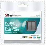 Trust Smart Home AGST-8802 Double Interrupteur Extérieur Mural sans Fil pour Système Domotique de la marque Trust Smart Home image 4 produit