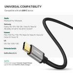 UGREEN Câble USB Type C en Nylon Tressé Supporte Charge Rapide Sync Boîtier en Aluminium Samsung S9 S8 Note 9 A8 2018 A7 A5 A3 2017, Huawei P20 Mate 10 P10 P9 Honor 8, OnePlus 6 5T 5 (0,5M) de la marque UGREEN image 3 produit