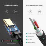 UGREEN Câble USB Type C en Nylon Tressé Supporte Charge Rapide Sync Boîtier en Aluminium Samsung S9 S8 Note 9 A8 2018 A7 A5 A3 2017, Huawei P20 Mate 10 P10 P9 Honor 8, OnePlus 6 5T 5 (0,5M) de la marque UGREEN image 4 produit