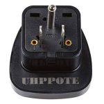 UHPPOTE Adapteur universel Type A 3 broches AC prise en voyages pour USA USA Amérique Canada(Paquet de 2) de la marque UHPPOTE image 2 produit