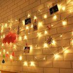 Uping Guirlandes Lumineuses 22m 200 Leds, avec Prise EU, 8 Modes de Fonctionnement, Décoration Maison Jardin Fête Cérémonie (Blanche Chaude) de la marque Uping image 2 produit