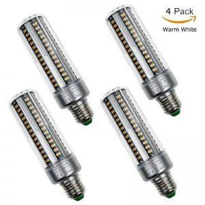 Usboo 4-Pack LED Breakage-proof Maïs Ampoule 20W 25W E26Culot à vis E27Ampoules LED à économie d'énergie 2700–7000K économie d'énergie Maïs Ampoule Lumière du jour AC 85–265V 25 W blanc chaud de la marque USBOO image 0 produit