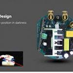 Variateur de lumière norme UE, 500W, LED - Façade en verre trempé transparent - Tactile - Manuel de l'utilisateur (français non garanti), blanc de la marque Rongda Smart Home image 4 produit