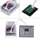Variateur de tension numérique 10000 W SCR Variateur de vitesse AC 220 V 80 A de la marque Hilitand image 3 produit