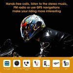 Veetop Intercom pour Casque Moto 1000M/Étanche Bluetooth - Set de 2 de la marque Veetop image 2 produit