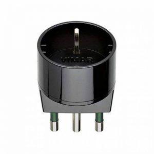 VIMAR Adaptateur fiche 16A prise sCHUKO noir de la marque VIMAR image 0 produit
