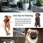 VIMOV Ensemble de 2 Cloche d'apprentissage de la propreté pour Animal Domestique Sonnettes pour Chiens de la marque VIMOV image 4 produit