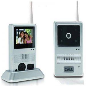 Visiophone Sans Fil - Mobile - Sonnette, Interphone, Video ou Photo LCD - Portée 25 m de la marque Fishtec image 0 produit