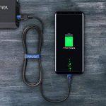 Volutz® Câble USB C/Type C vers Prise USB à Recharge Rapide (Lot de 5) plaqué Or et en Nylon tressé (3m + 2m + 2x1m + 30cm) pour Samsung Galaxy S8/Plus, Nexus 5X/6P, Nintendo Switch et Plus de la marque Volutz® image 4 produit