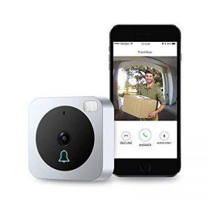 Vue-Bell - Caméra vidéo de sonnette, avec audio 2voies, détecteur de mouvement, vision de nuit, caméra et carillon de porte sans fil supplémentaire (version câblée) de la marque VueBell image 0 produit
