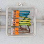 WAGO 221-415 Bornes de raccordement compactes avec leviers pour 5conducteurs de 0,14 à 4mm² - Coloris orange de la marque Wago image 3 produit