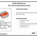 Wago WAG221344_BL50 Pack de 50 Bornes de connexion universelle tous conducteurs Type 221/ 3 entrées de la marque Wago image 3 produit