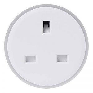 Wanfor Smart Plug Wifi télécommande UK Socket Minuteur LED sans hub d'économie d'énergie Fournitures, 2.30X 2.20in de la marque Wanfor image 0 produit