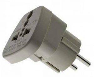 Watt&Co WAS-9type C (Europlug) Prise adaptateur universelle de la marque Watt image 0 produit